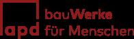 a p d | bauWerke für Menschen Logo